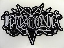 KATATONIA  EMBROIDERED BACK PATCH