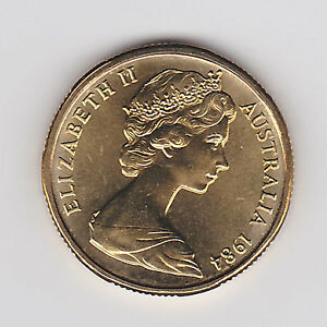 1984 (UNC) ONE DOLLAR $1 COIN - BRILLIANT UNCIRCULATED COIN - FROM MINT ROLL