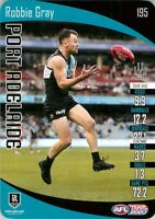 ✺New✺ 2020 PORT ADELAIDE POWER AFL Card ROBBIE GRAY Teamcoach