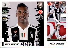 Panini FIFA365 2019 - Sticker 228 a/b - Alex Sandro - Juventus Turin