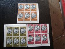CHYPRE - timbre yvert et tellier n° 401 a 403 x6 n** (europa) (Z0) stamp cyprus