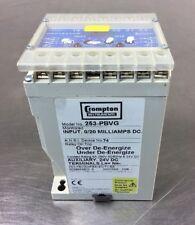 Crompton Instruments 253-Pbvg Protector Relay Loc.4A