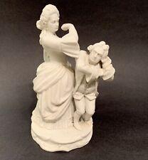 Antique Kriegel & Co. Prague Bohemia Bisque Porcelain Figurine, 19th Century