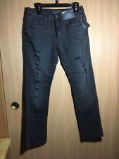 D E C R E E. Flex Denim NEW Black Jeans, Ripped 30X32 Great Condition