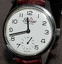 orologio Perseo railking FS originale cal. Cort 130 uomo vintage funzionante