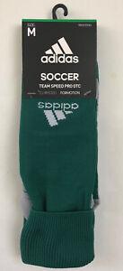 NWT Adidas Men MD Team Speed Pro OTC Green Soccer Socks Climacool Formotion New