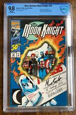 Moon Knight #50  -  CBCS 9.8 wp  -  Avengers cover, upcoming MCU show (not CGC)