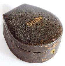 Vintage stud box Mens accessories 1940s 1950s 1960s INCOMPLETE