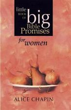 The Little Book of Big Bible Promises for Women by Alice Zillman Chapin (2001, …