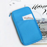 Mini Travel Passport Credit ID Card Cash Holder Organizer Wallet Purse Case Bag