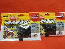 BERKLEY POWERBAIT MANTIS BUG (4IN) JUNEBUG (8CT)(2PK'S)#1481087