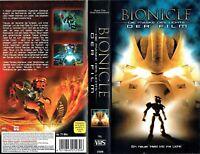 (VHS) Bionicle: Die Maske des Lichts - Der Film - Animationsfilm, Kinderfilm