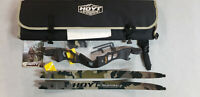 "Hoyt Satori 19"" RH Black Out Riser with Medium Kuiu Verde Camo Limbs"