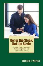 Go for the Steak, Not the Sizzle: How to Find a Network Marketing Business that