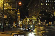 Original Photograph: Muni Milan Peter Witt 1818 at Market/Drumm at night