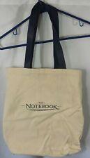 The Notebook 2004 Rachel McAdams Ryan Gosling Movie Promo Canvas Tote Bag