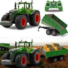 FENDT Traktor SET Ferngesteuert Modell RC + Anhänger 1:16 Kipper Spielzeug Kind