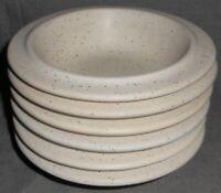 Set (6) Fabrik PTARMIGAN PATTERN Soup/Cereal Bowls MADE IN SEATTLE WASHINGTON