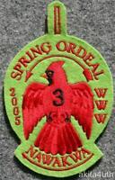 2005 OA Lodge 3 Nawakwa - Spring Ordeal - BSA