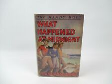 THE HARDY BOYS #10 What Happened at Midnight by Franklin W. Dixon in VG DJ