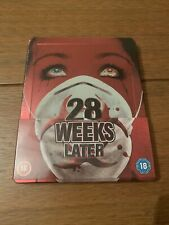 28 Weeks Later Zavvi Exclusive Blu-ray Steelbook New/Sealed/OOP/Rare