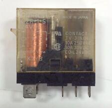 1X relais 10A 24v    G2R-1-S OMRON ou 46.61.9.024 FINDER ou SCHNEIDER  RXG15BD