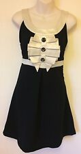 DRESS SALE     SIZE 8    ATMOSPHERE    Black & White  Mini Party Dress