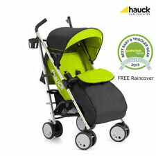 New Hauck Torro Pushchair Buggy Pram Stroller+Raincover+Bootcover In Lime