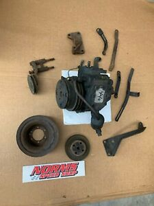 Mopar 440 426 413 A/C Compressor Pump Pulley Bracket Set 1966 68 B C Body  65 67