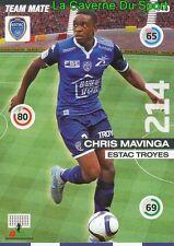 340 CHRIS MAVINGA CONGO.DR ESTAC TROYES CARD UPDATE ADRENALYN 2016 PANINI