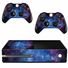 Nebula Pattern Skin Sticker for Xbox One Console Controller Kinect Decal V K7x8