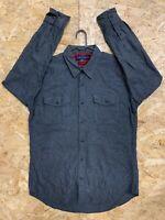 Men's Vintage Tommy Hilfiger Long Sleeve Flannel Shirt Large L Check