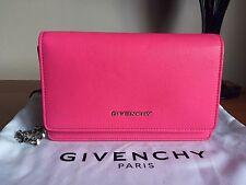 Givenchy Pandora Chain Wallet Fuschia Pink