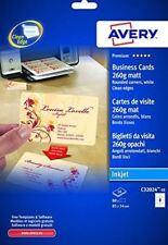 Avery Business Cards 85x54mm 260g. matt C32024-10