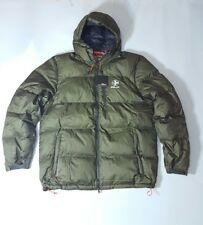 $345 RLX Ralph Lauren Men's OLIVE Down HOODIE Jacket (SZ:2LT) NWT