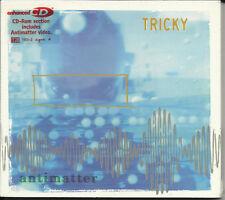 TRICKY Antimatter 3 RARE REMIXES & VIDEO UK CD Single SEALED Ragga remix