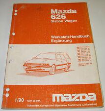 Werkstatthandbuch Elektrik Mazda 626 Station Wagon Typ GV GD Stand 1990