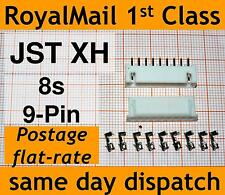 JST-XH connector plug (Male, Female, Crimps) Lipo 8s Balance Extension 9 PIN PCB