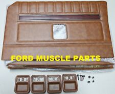 FORD FALCON XY GT GS SADDLE DOOR TRIM KIT EXCHANGE