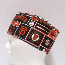 San Francisco Giants Mens Scrub Hat, Chemo Hat, Medical Skull Cap