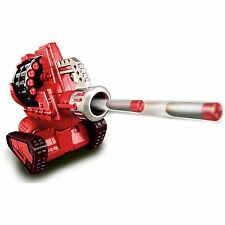 VMD Cannon Commando 50 Ft Dart Launcher Toy Remote Control RC Tank Vehicle, Red