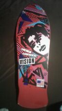 VISION - Mark Gonzales skateboard deck reissue - Red - New in Shrink