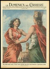 Trieste Returns to Italy after 10 Years of Waiting, DDC Newspaper Cover 1953