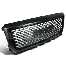 For 2014-2015 GMC Sierra 1500 1500HD ABS Grille Front Hood Grill Matte Black