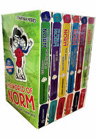 The World of Norm Collection Jonathan Meres 6 Books Set Series 2 & 3 - Books 4-9