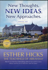 Abraham-Hicks Esther 2 DVD - NEW THOUGHTS NEW IDEAS NEW APPROACHES - NEW