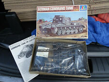 MAQUETTE CHAR GERMAN COMMAND TANK ITALERI 1/35