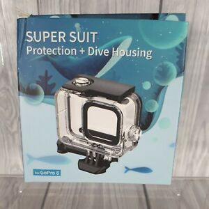 GoPro Underwater Housing (Super Suit Uber Protection Dive) for Hero 8