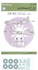Bestfong Decals 1/72 Lockheed P-3C Orion Rocaf Low Viz Markings