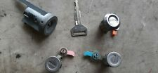 91-94 Toyota Tercel Complete Key Set: Ignition Door Locks & Trunk Cylinder w Key
